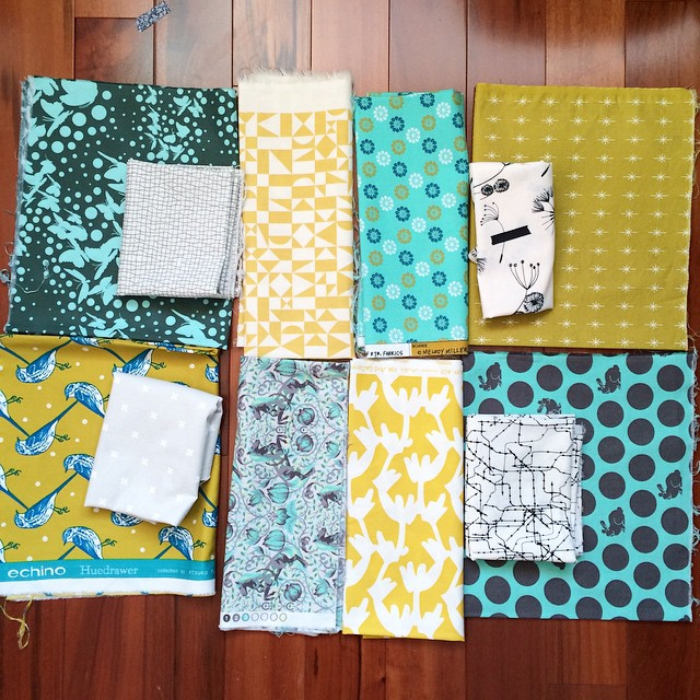 Consider Quilt - sorting the fabrics