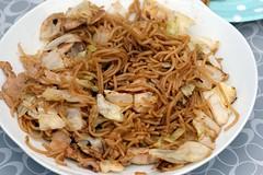 Fried Steamed Noodle by Noodle Maker