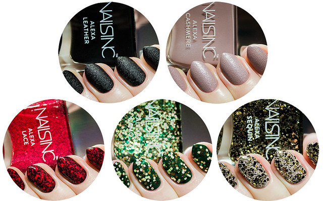 Nails Inc Alexa Chung Fabric Collection Nail It En Blogg Om