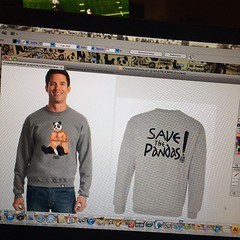 Whipping up some fresh 2014 Fall/Winter Psycho Panda goods!! Full collection available soon! Stay tuned... #streetwear #ppstwr #style #swag #sweatshirt #dmv #diy #fresh #lovewhatyoudo #hustleharder #flyest #savethepandas #official #illest #builditandtheyw