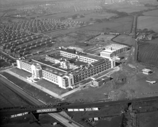 Wills Tobacco Factory, Newcastle upon Tyne, 1950