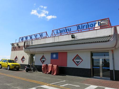 一踏上蘭嶼,第一眼見到的常是蘭嶼航空站。攝影/何怡君