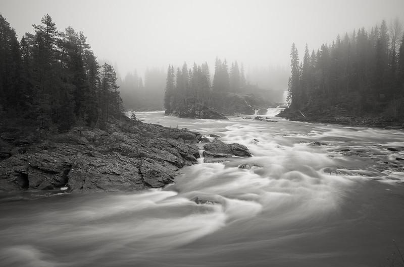 Ristafallet (Rista falls)