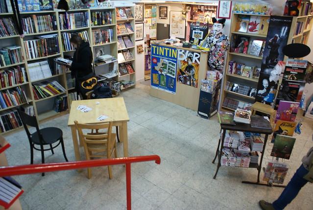 Fankomiks, librairie BD, manga et comics à Cracovie