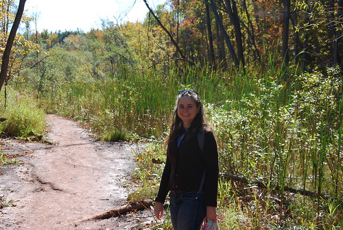 Bruce Trail at the Cheltenham Badlands, Caledon Ontario
