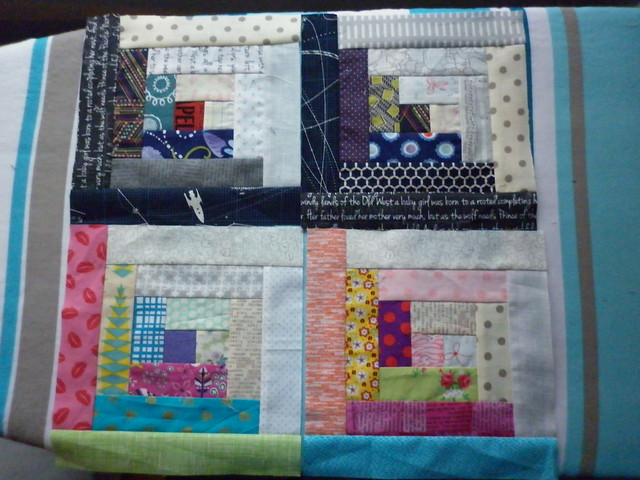 Blocks for Catherine - Bee A Brit Stingy October 2014