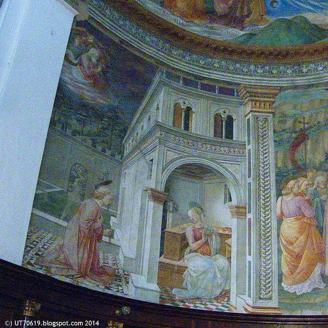 Spoleto - Dom - Verkündigung