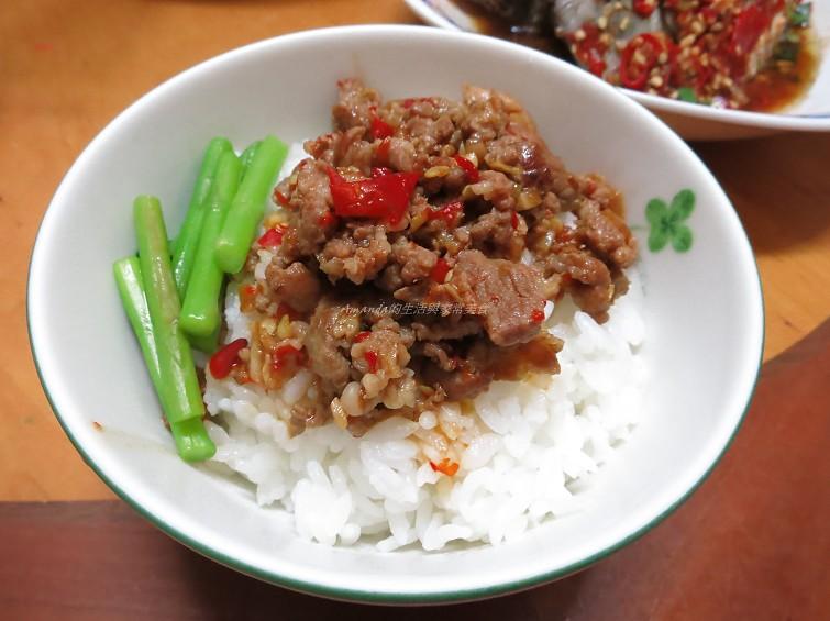 剁椒肉燥飯 - 複製