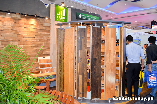 Filtra Timber Exhibit Booth