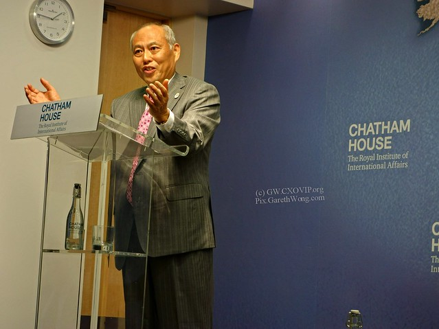 Explaining Yōichi Masuzoe @MasuzoeYoichi Governor of Tokyo re 2020 Olympics from RAW _DSC5423