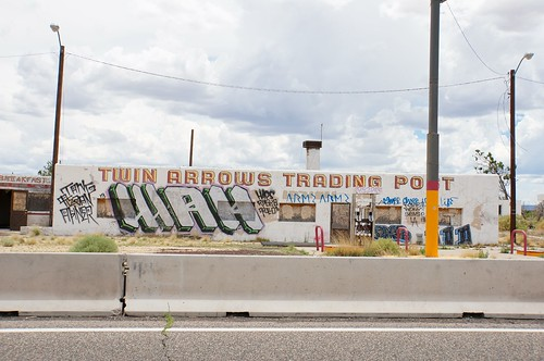 Twin Arrows Trading Post, Route 66, Arizona