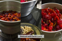 Beetroot and Carrot Curry
