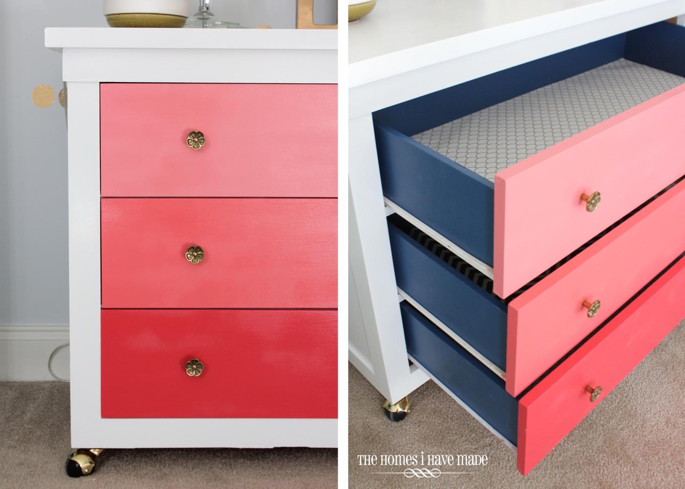 Pink Ombre Dresser-003