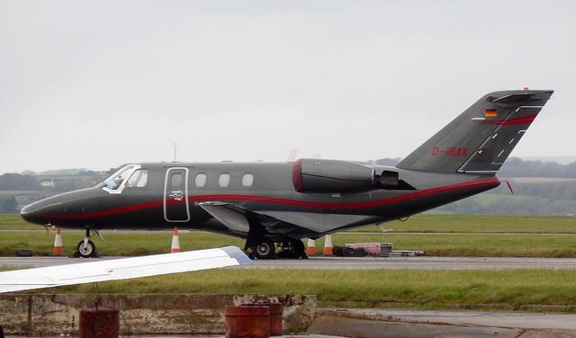 C525 D-IBAK Cardiff 081114