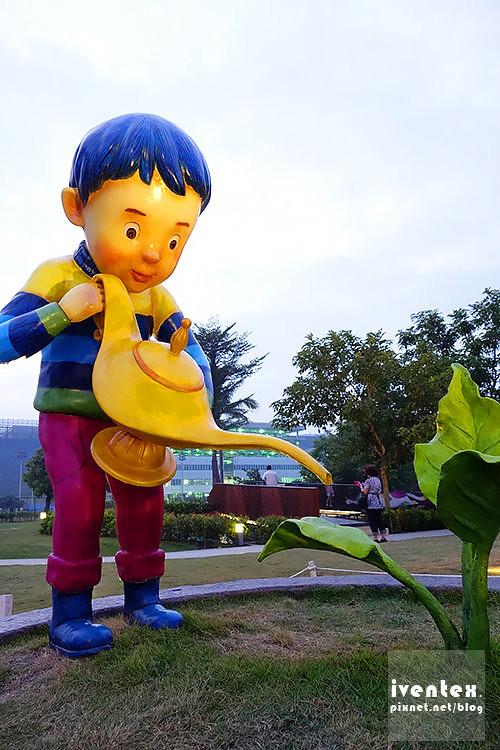 25-1刀口力台南善化南科幾米裝置藝術小公園