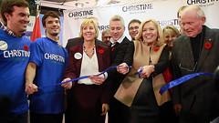 Christine Elliott Ribbon Cutting