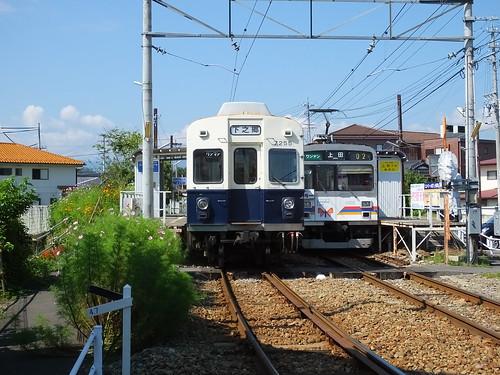 城下駅にて2014年9月撮影