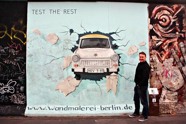Test the Rest - Berliinin muuri