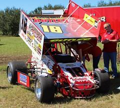 auto racing(0.0), sport venue(0.0), stock car racing(0.0), monster truck(0.0), formula one(0.0), race track(0.0), race car(1.0), automobile(1.0), racing(1.0), vehicle(1.0), sports(1.0), race(1.0), dirt track racing(1.0), motorsport(1.0), sprint car racing(1.0),