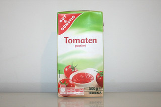 09 - Zutat Tomaten passiert / Ingredient sieved tomatoes