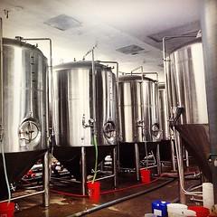Making Ale - #moerlein #moorestreet #beer #ale #brewery #thisisotr #otr #ohio #cincy #cincyusa #cincypics #fotofocus2014 #queencityscenes  #taproom #brewerydistrict
