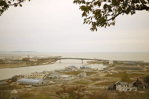 Port Ishinomaki, a view from Hiyori-yama