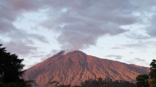Mount Meru at Sunset