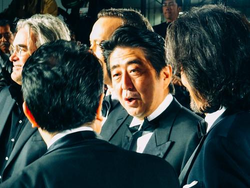 26th Tokyo International Film Festival: Paul Greengrass & Tom Hanks from Captain Phillips, Mitani Koki & Yakusho Koji from The Kiyosu Conference, Prime Minister Abe Shinzo