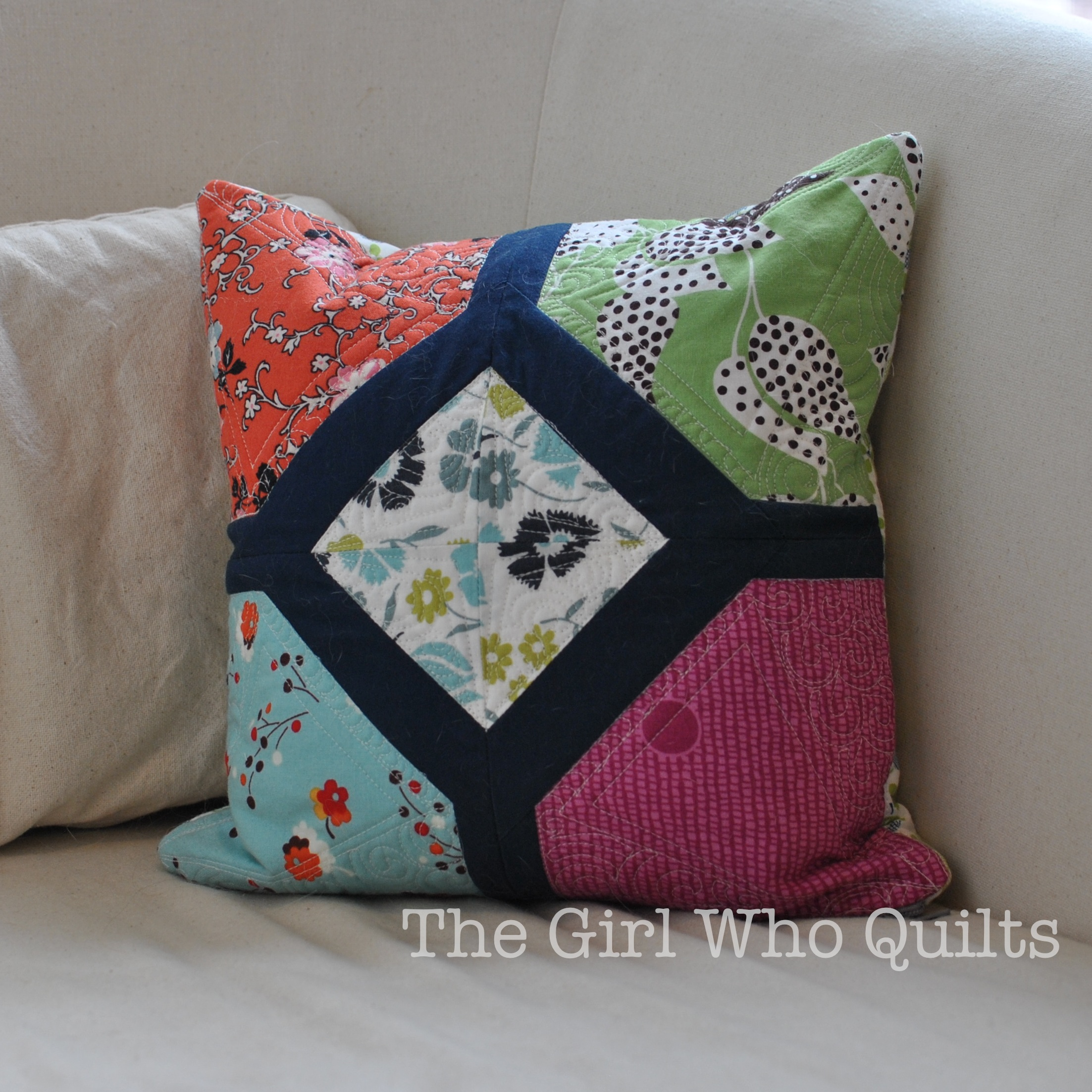 Free pillow/quilt pattern!