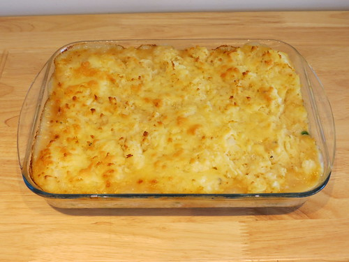 Spicy Soy Sauce Fish Pie