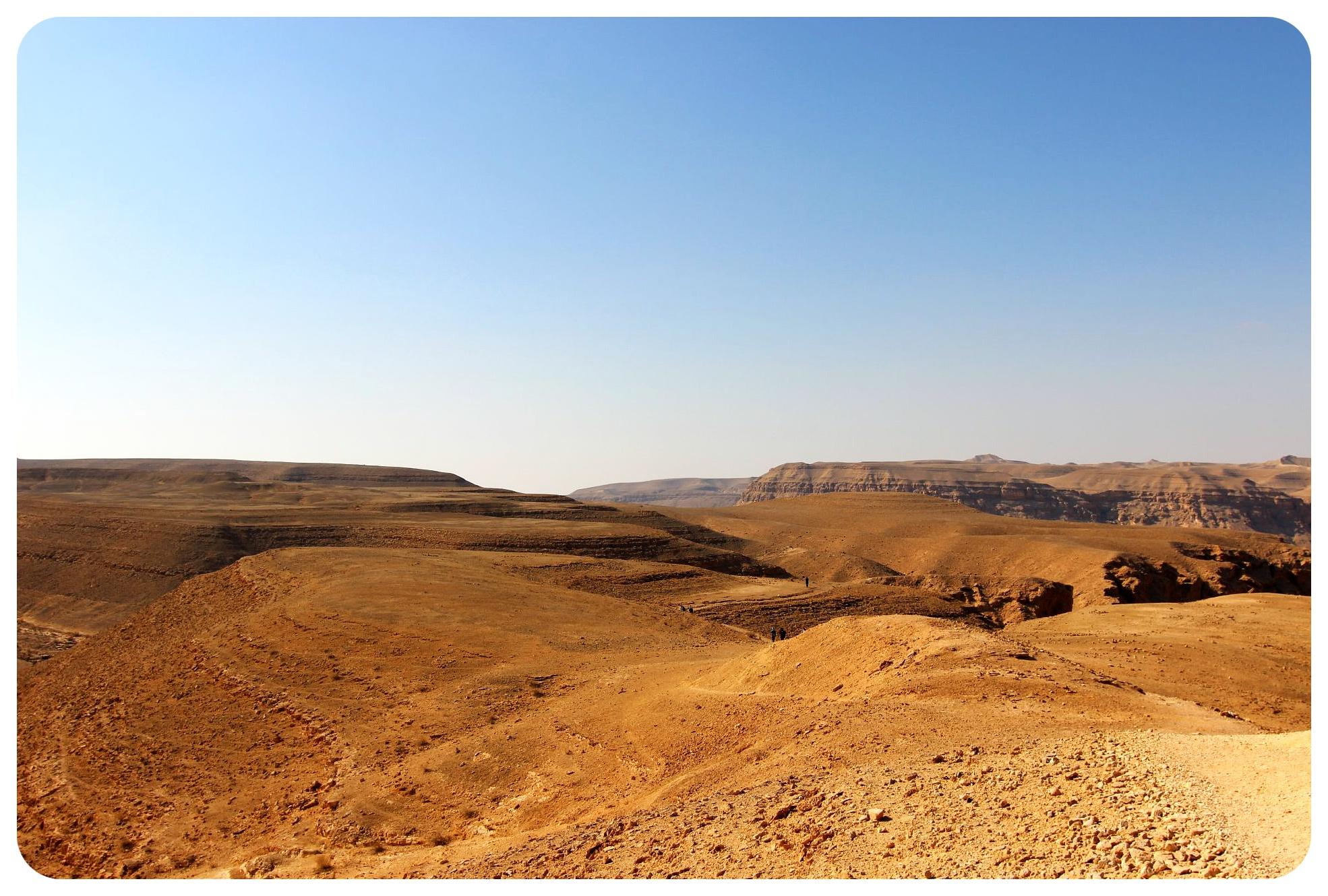 negev desert hike israel