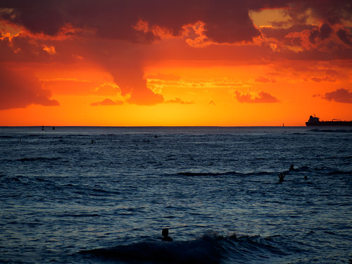 sunset hawaii em10