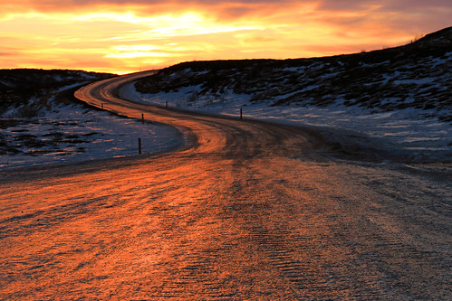 road sunset snow ice clouds reflections island iceland europe ligth bestcapturesaoi elitegalleryaoi