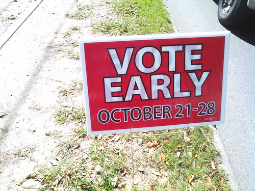 Vote Early red