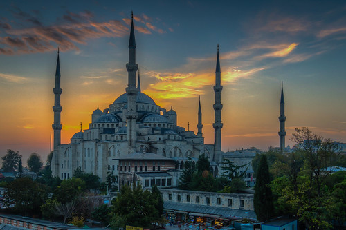 The Blue Mosque in the Golden Hour