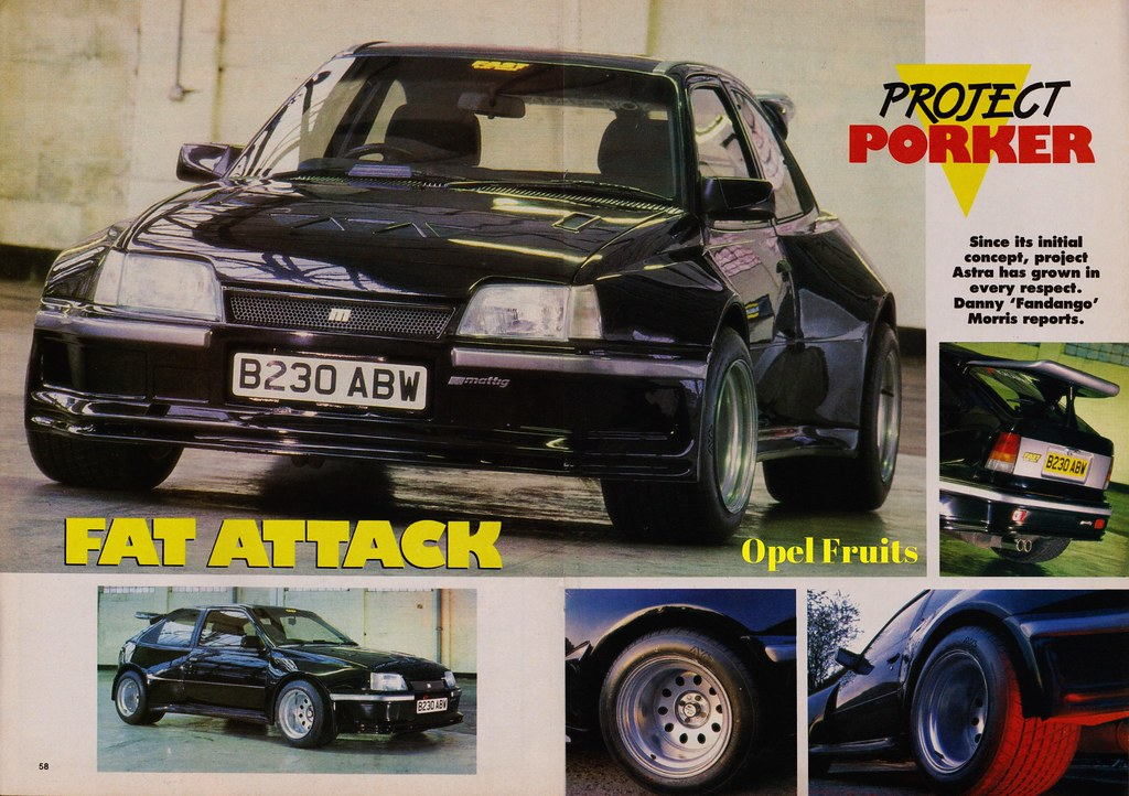 Vauxhall Astra Project Car Fast Car Magazine Scan A Photo On