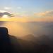 Smoke filled Grand Canyon by ~*Hannah*~