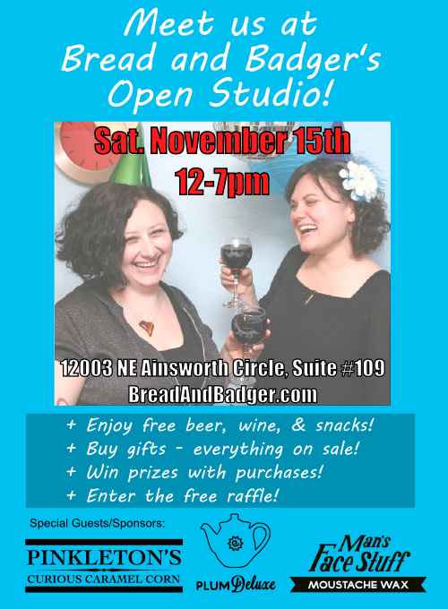 open studio flyer color