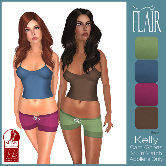 Flair - Kelly Cami Shorts set - Base