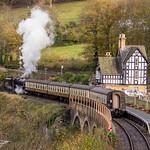 2014 - 11 - 02 - EOS 600D - Llangollen Railway - Berwyn Stop - 013