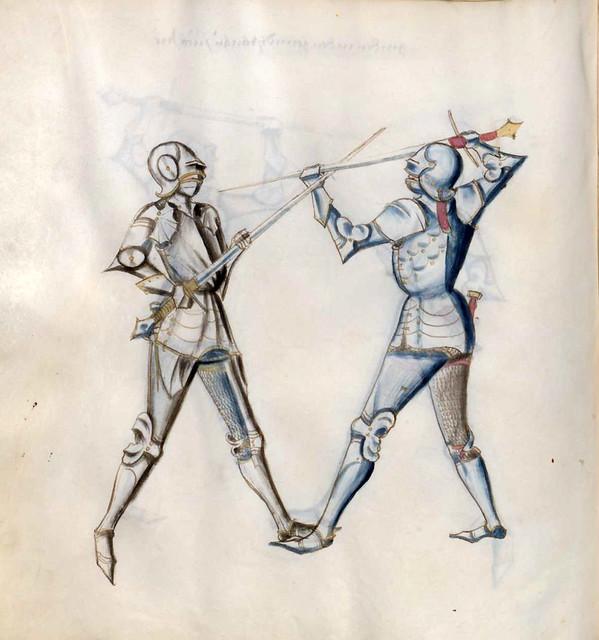 004-Kal Paulus Fechtbuch gewidmet dem Pfalzgrafen Ludwig- BSB Cgm 1507- Bayerische StaatsBibliotehek
