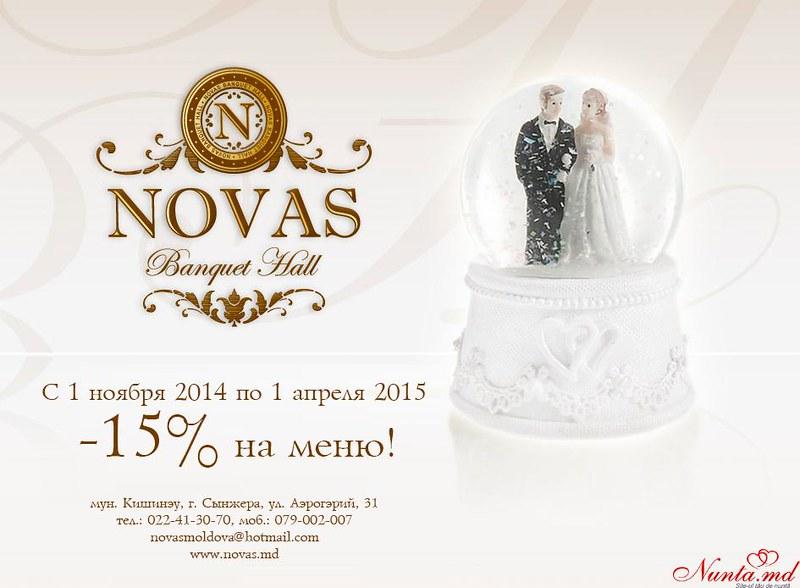 Novas Banquet Hall > Super Oferta de la  Novas Banquet Hall