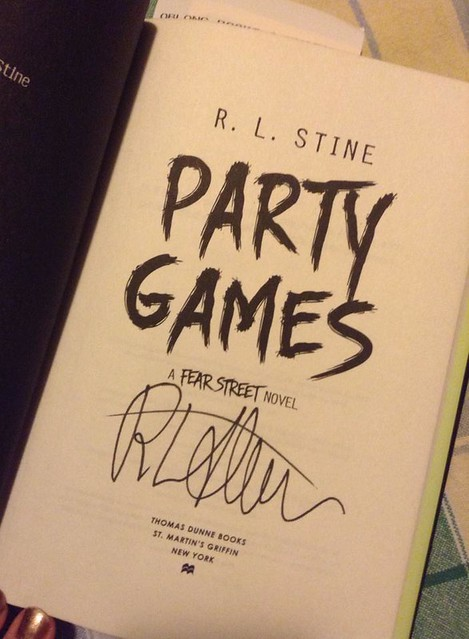 R.L. Stine at Oblong Books