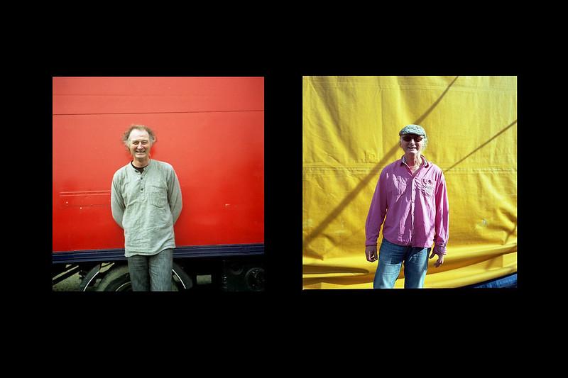 Avant/après, série de portraits 2006/2014 - © Fabien Gruau