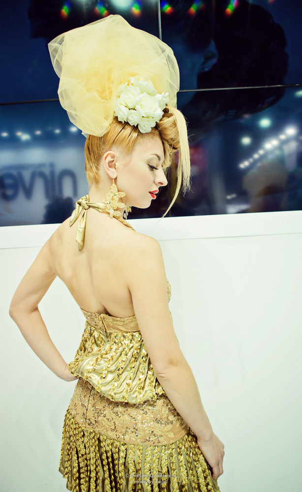 """My Golden Blond"" - shooting for hair stylist Marina Malyuta."