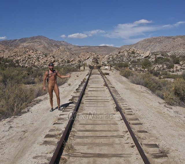 naturist 0012 DeAnza railroad trail, California, USA