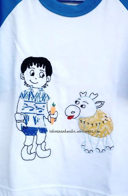 Applique-tshirt-frozen-kristof