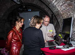 App-demonstratie Museumn8 2014 App Dungeon