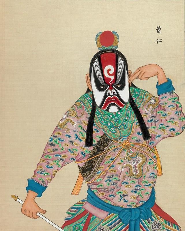 Chinese Opera figure n