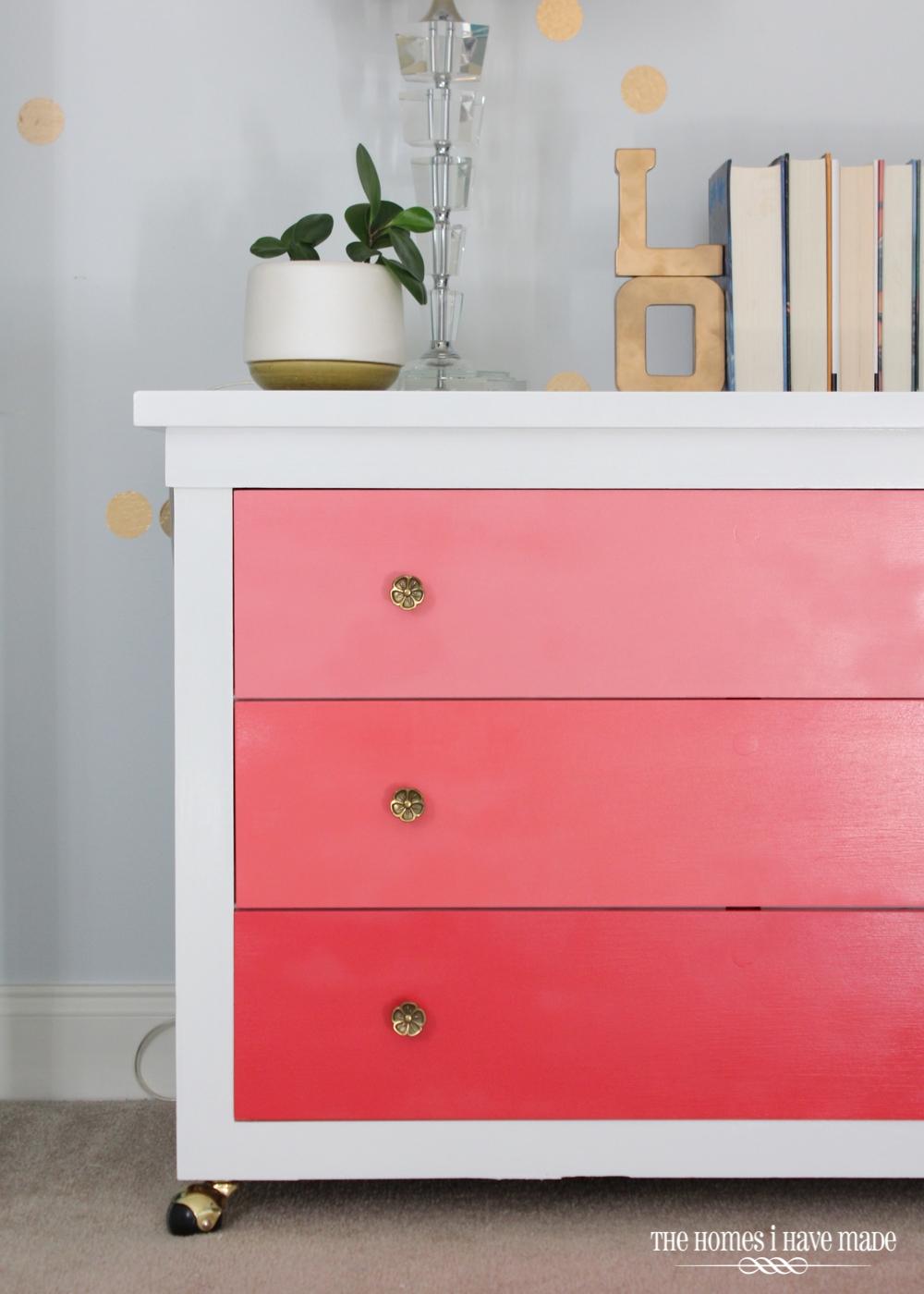 Pink Ombre Dresser-004